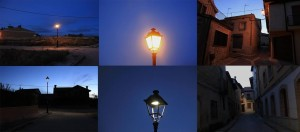 3 fotos iluminación tradicional 3 ilumninación con LED