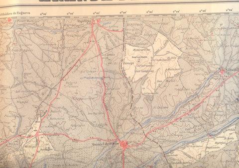 Detalle de la Hoja 346 1955