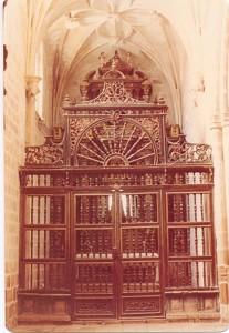 Reja de la capilla del Rosario (1977)