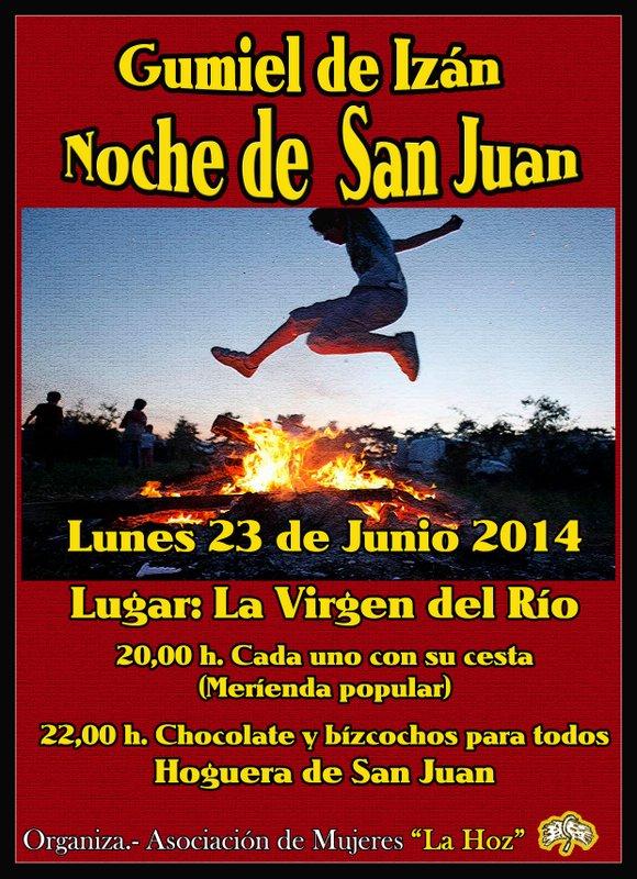 programa de la noche de San Juan