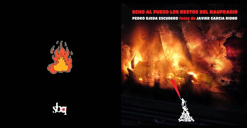 Echo al fuego los restos del naufragio (portada y contraportada)