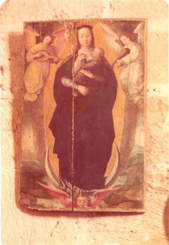 Virgen con los ánges músicos (agosto de 1977)