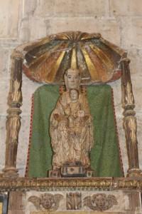 Virgen de Tremello en el Museo Gomellano (Pablo Las Hayas).