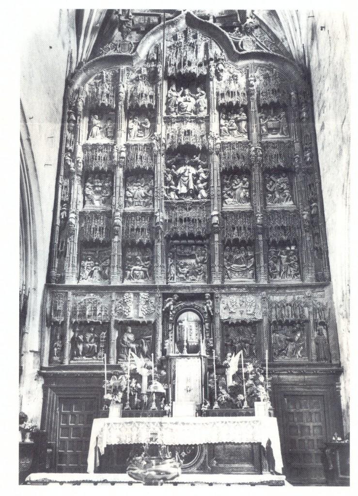 Retablo en 1951