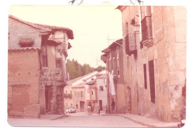 Calle Real con Los Mesones al fondo (1977)