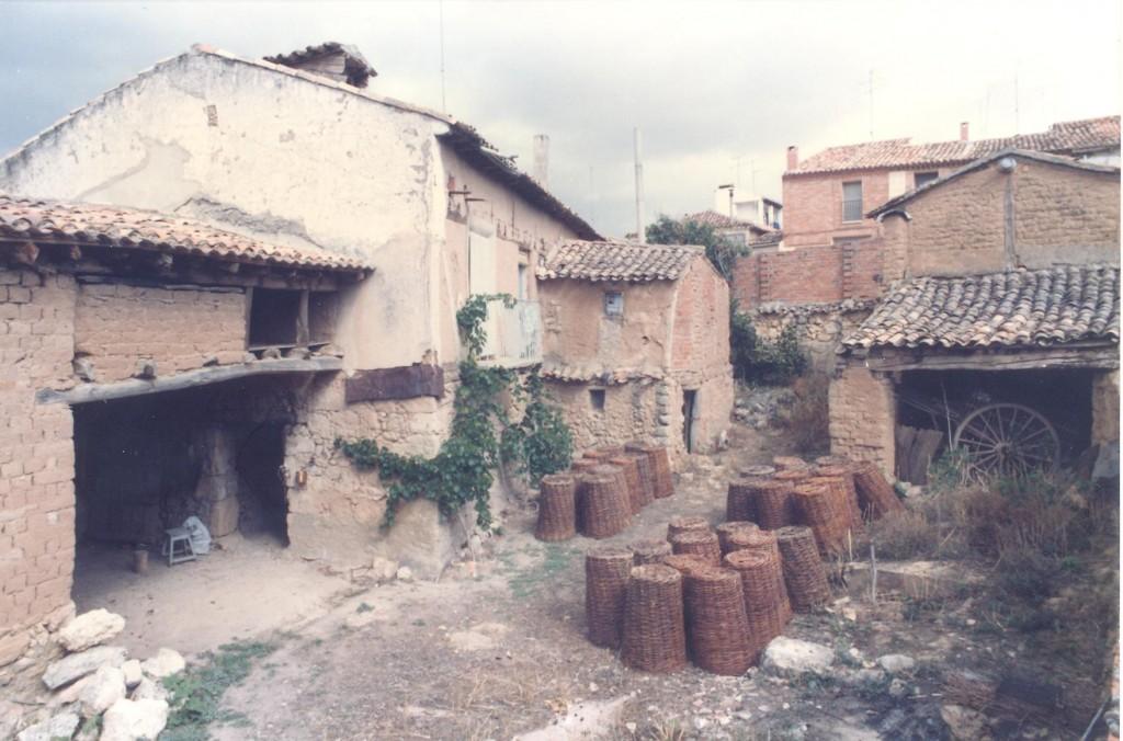 Trasera y corral de la casa de la Máxima (1970s)