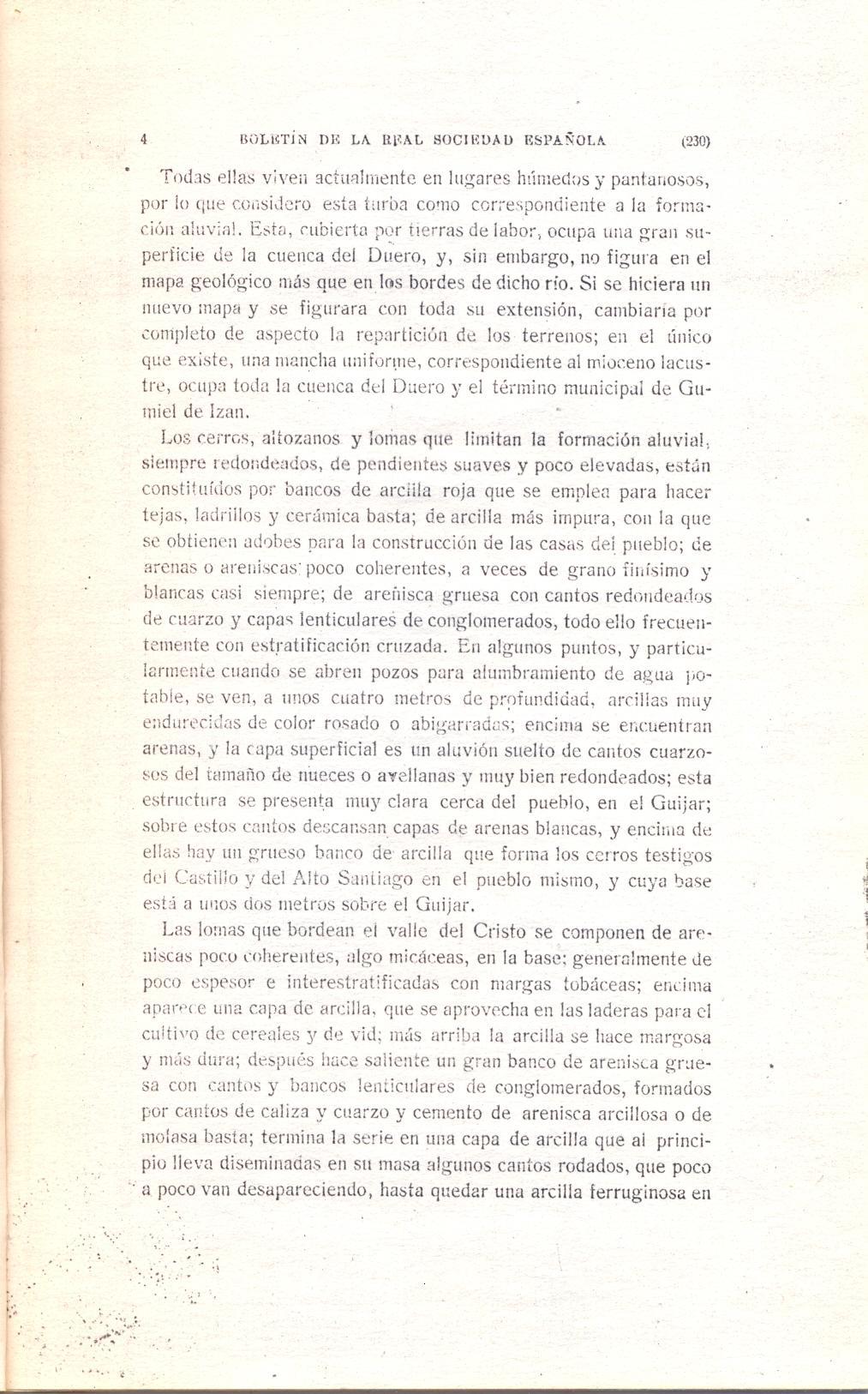 Página 4 del artículo sobre la turba