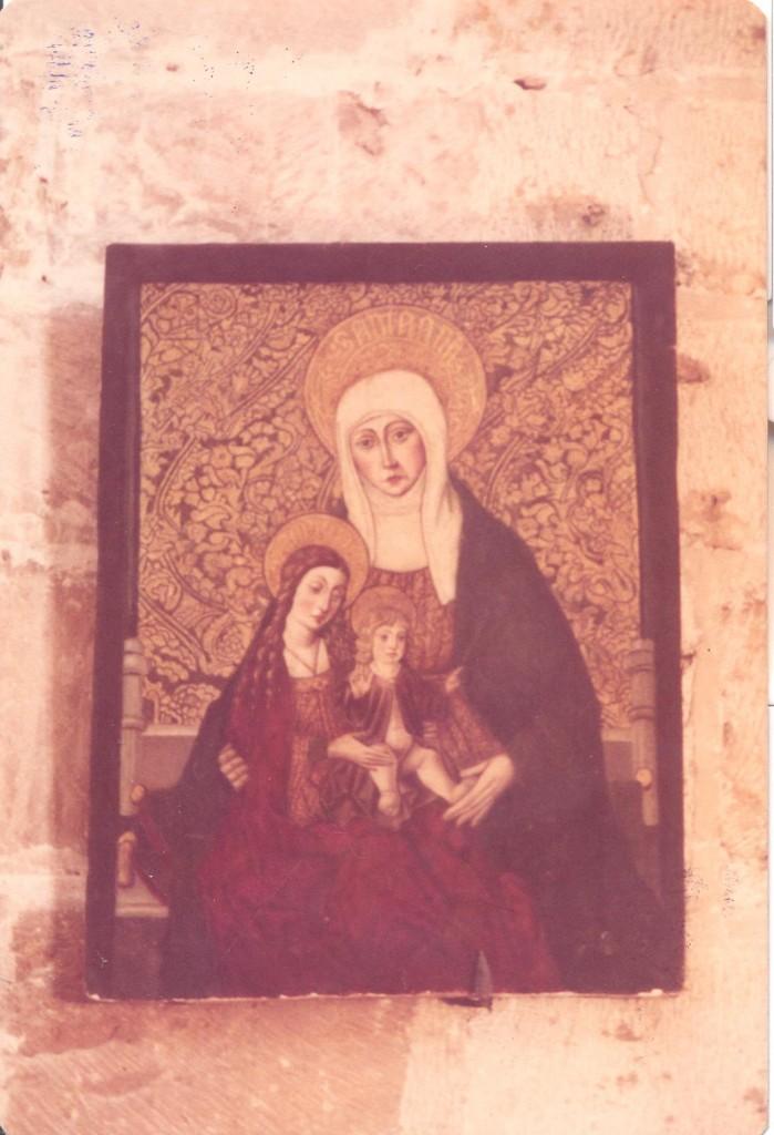 foto del cuadro Santa Ana, la Virgen y el NIño