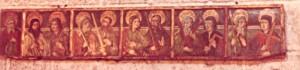 tabla o predela del apostolado