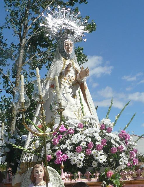 Imagen de la Virgen del Río