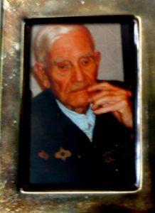 Retrato de don Poli en sus últimos años