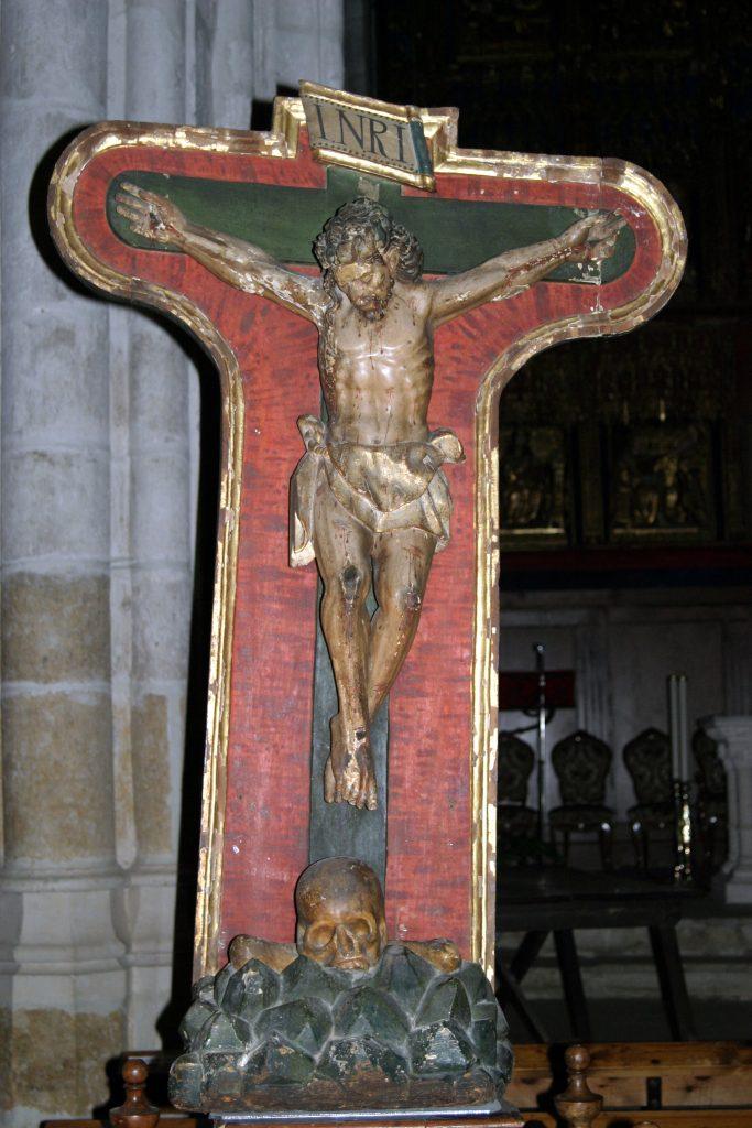 Imagen del Cristo de la Salud descrita en el texto