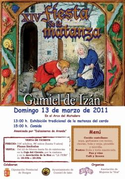 Cartel de la XIX Fiesta de la Matanza, 13 de marzo de 2011