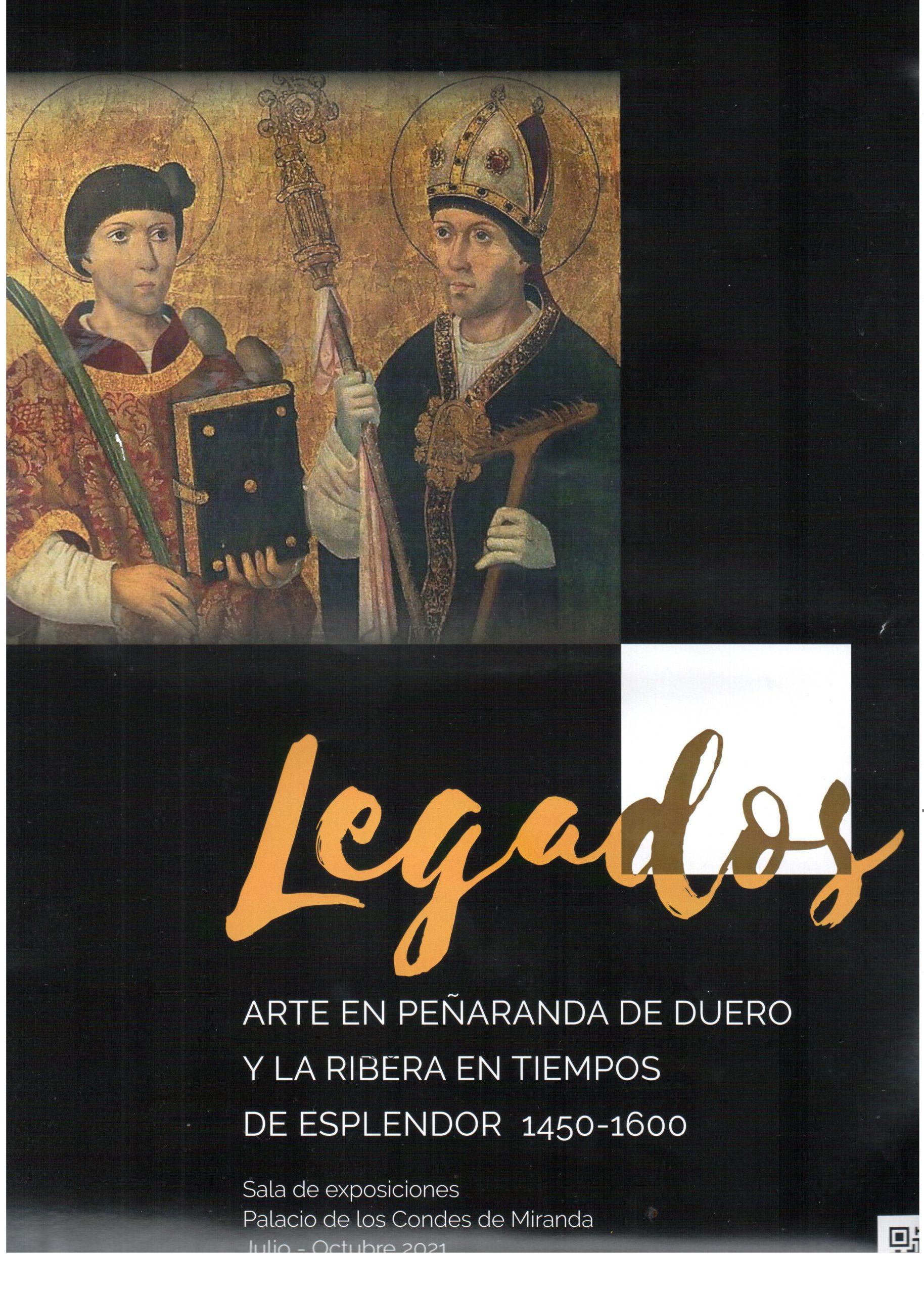 Cartel de la expo, con parte de la predela como motivo pictórico
