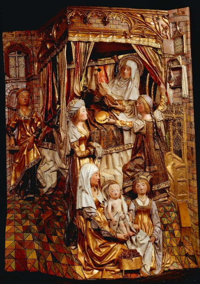Nacimiento de María de Gil de Siloé