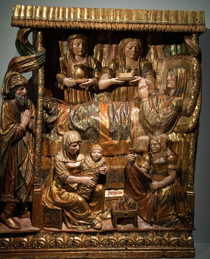 Nacimiento de María en Las Edades del Hombre